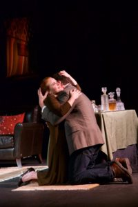 June Alane Reif and Richard Pallaziol, The Lover by Harold Pinter, Valley Players, Napa Valley, California